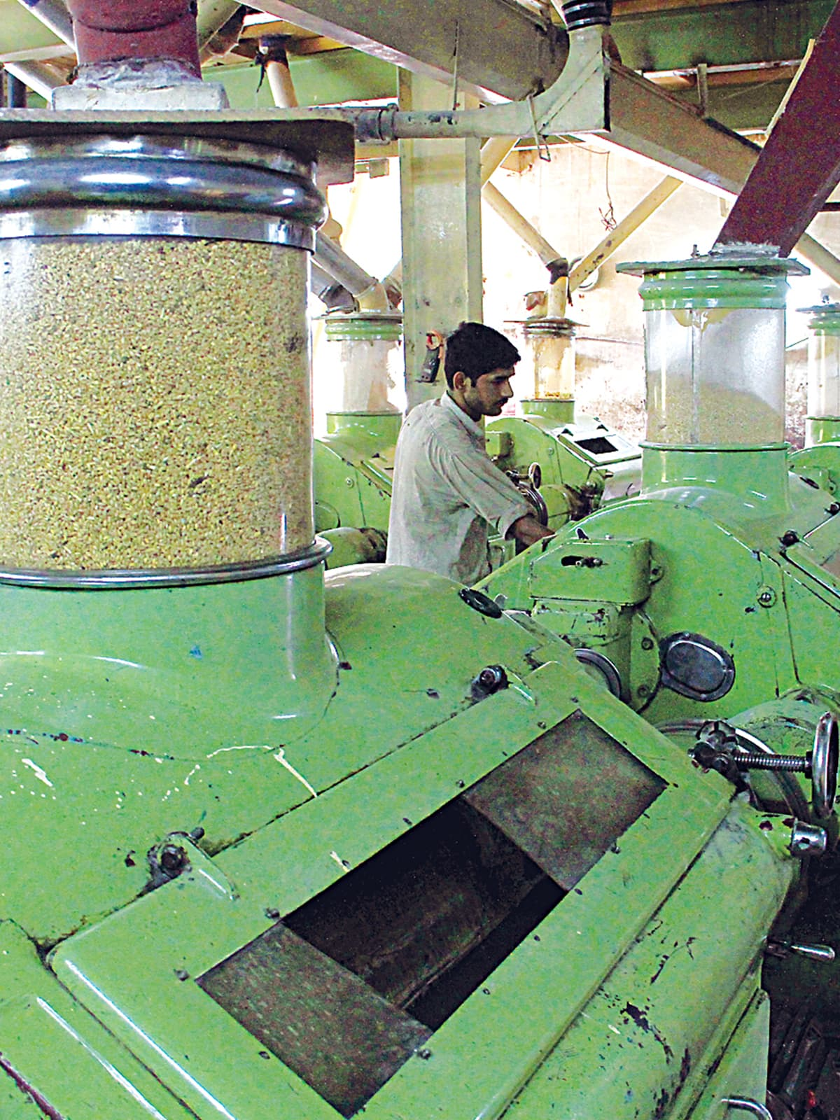 A flour mill in Karachi | Fahim Siddiqui, White Star