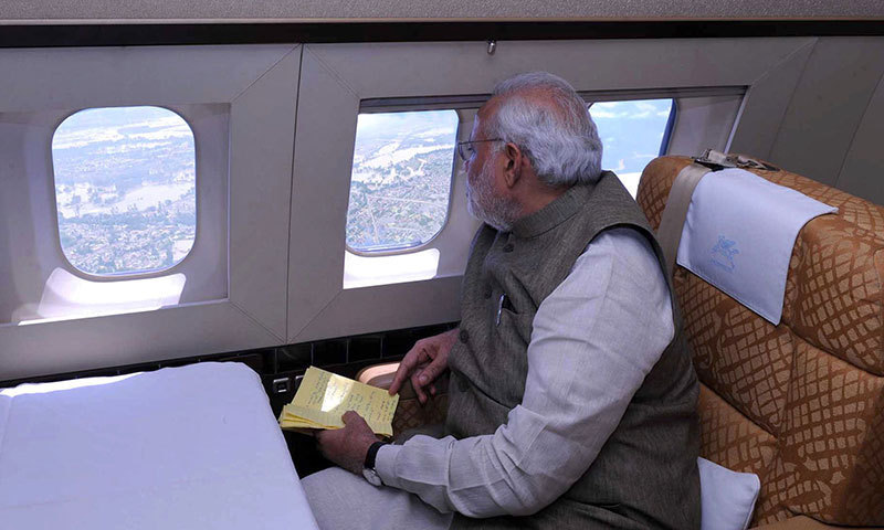 PM Modi Leaves For Shanghai Summit, Won't Use Pak Airspace