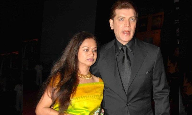 زرینہ وہاب اور ادیتیا پنچولی نے 1986 میں شادی کی تھی—فوٹو: فیس بک