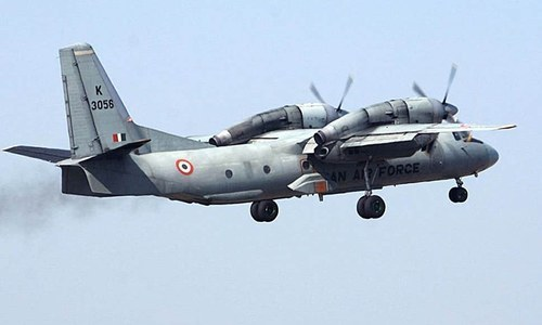 The Indian airforce plane with five Indian air force officers and eight people of other ranks lost ground contact on June 3. — Reuters/File