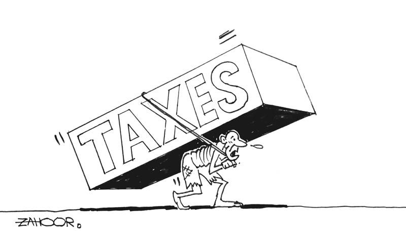بجٹ 20-2019 کے اعلان کے اگلے روز ڈان اخبار میں شائع ہونے والا کارٹون