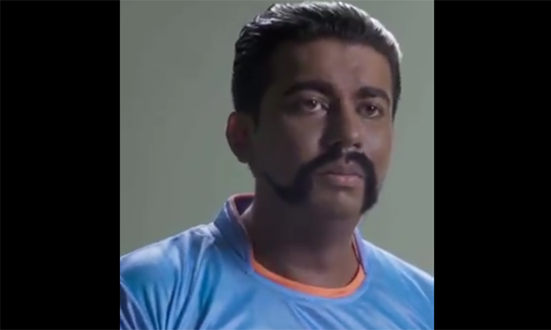 A screengrab from the parody video depicting Indian Air Force pilot, Abhinandan Varthaman. — Video courtesy Arun Moorjiani