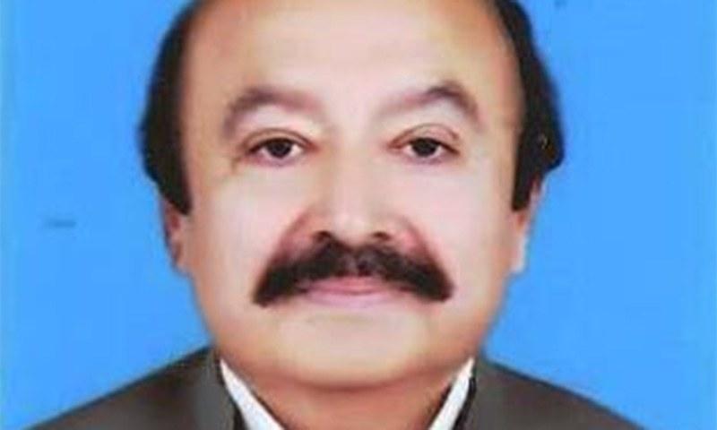 سبطین خان، پرویز الہٰی کے دور میں پنجاب کے وزیر کان کنی و معدنیات رہ چکے ہیں — فوٹو: پنجاب اسمبلی ویب سائٹ