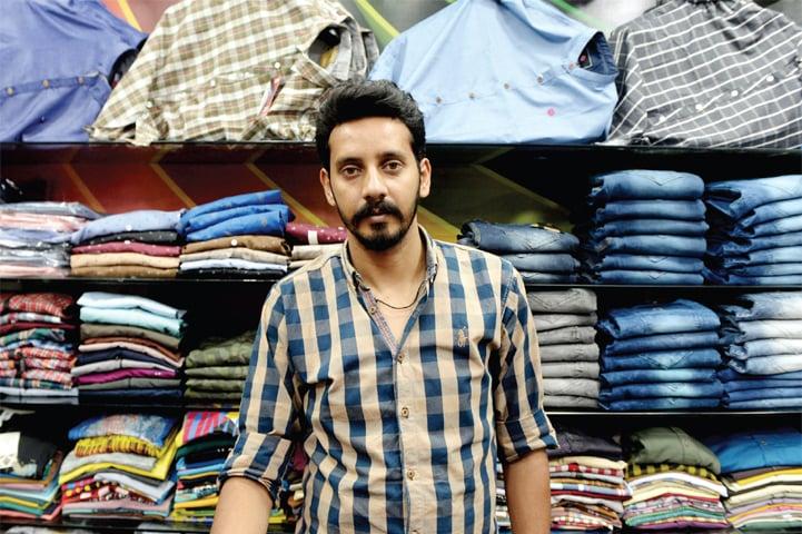 Mohammad Haroon, 30, salesman