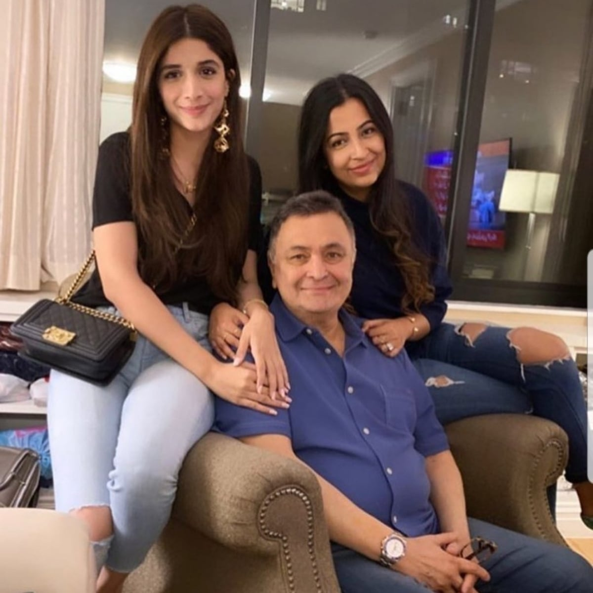 Mawra Hocane meets Rishi Kapoor in New York