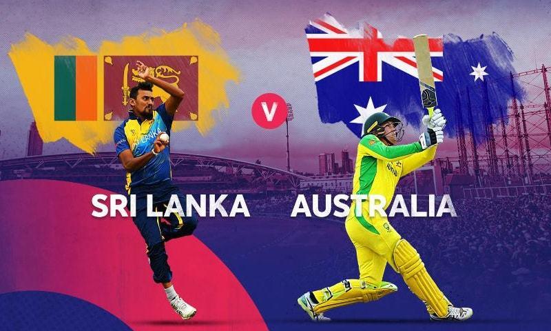 دونوں ٹیموں کے درمیان آخری 5 میچز میں سے 4 میں آسٹریلیا نے کامیابی حاصل کی — فوٹو: آئی سی سی ٹوئٹر اکاؤنٹ