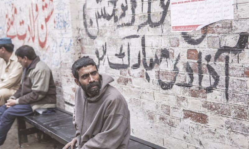 It has been one struggle after another for Khurshid, who cannot find stability in income or family life since he was released from prison. — Photo by Nad E Ali