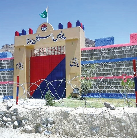 Merged districts' first police station opens in Wana