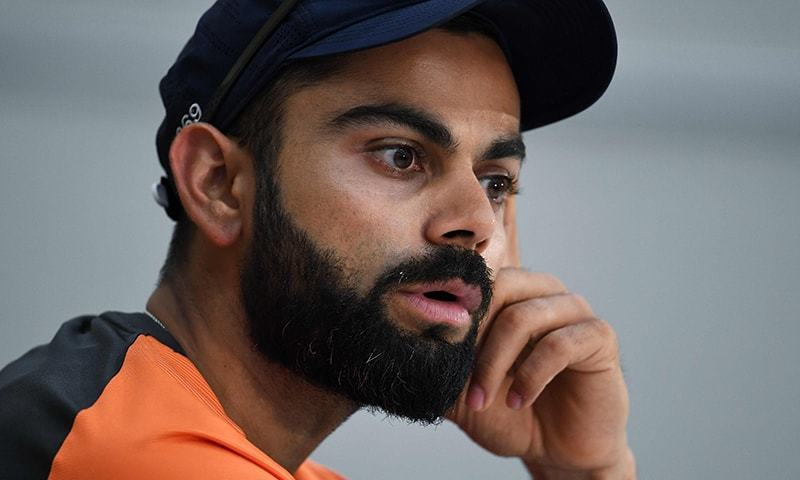 There has been plenty of hype surrounding Sunday's sold out contest but Virat Kohli refused to fuel it further. — AFP/File