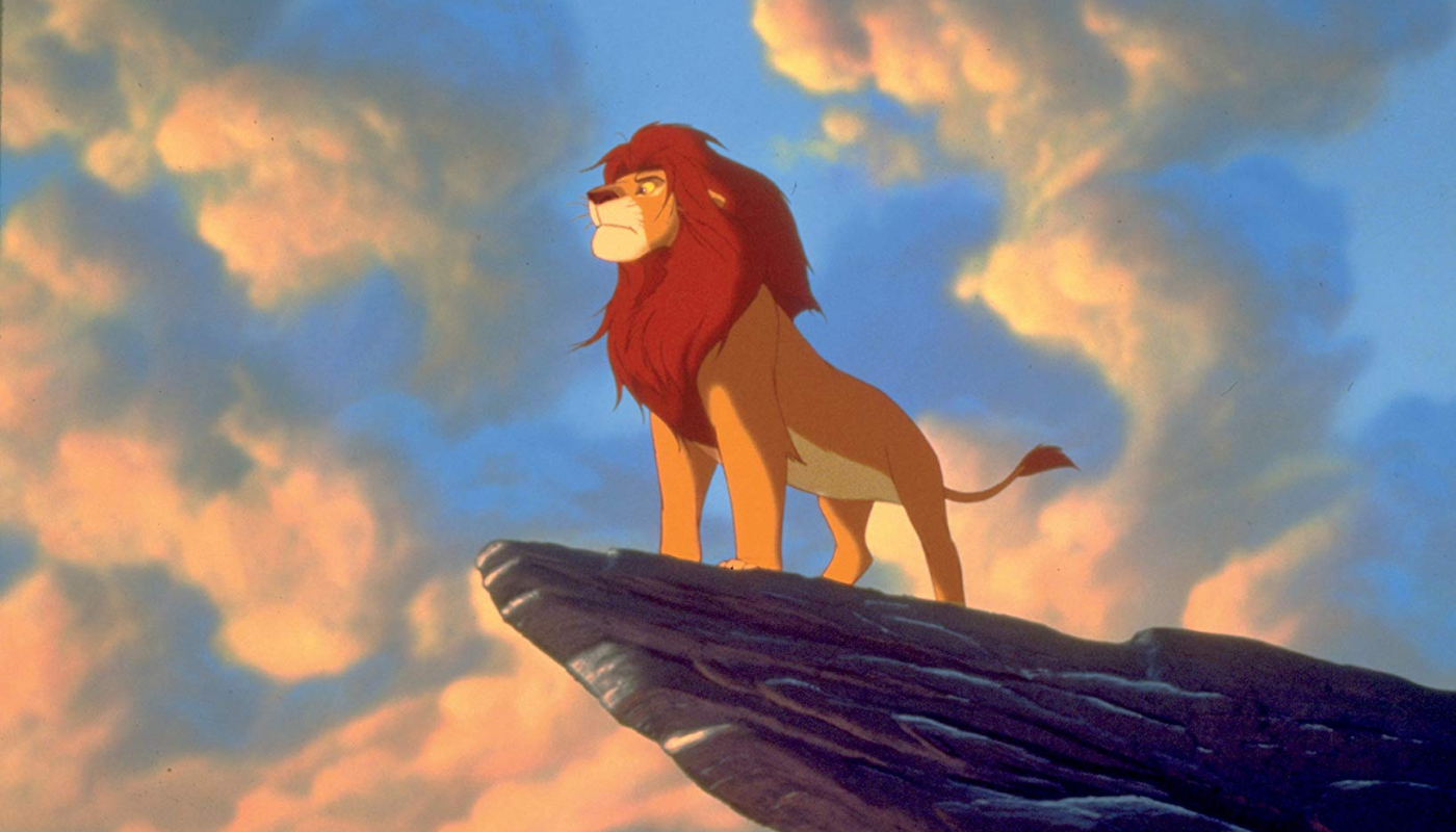 A still from the The Lion King (1994)
