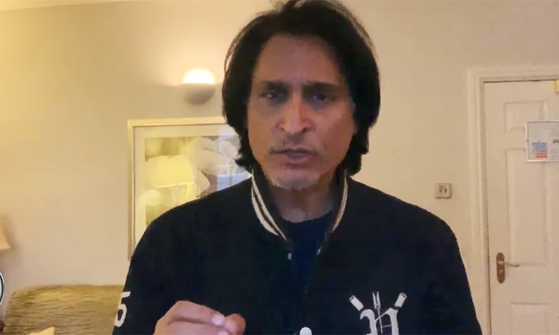 Former cricketer Ramiz Raja says that the time has come to completely revamp Pakistan cricket. — Photo courtesy Ramiz Speaks YouTube channel