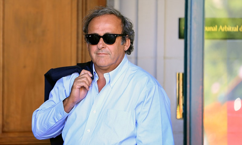 In this file photo, former UEFA President Michel Platini arrives at the Court of Arbitration for Sport (CAS) to be heard in the arbitration procedure involving him and the Fifa in Lausanne, Switzerland on August 25, 2016. — Reuters
