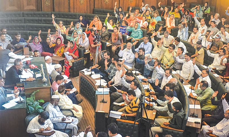 City Council demands Rs2.5m per month for every UC