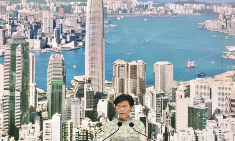 Hong Kong leader Carrie Lam apologised on Tuesday for the political unrest that has shaken Hong Kong, but the pro-Beijing chief executive refused to bow to demands for her resignation. — AFP/File