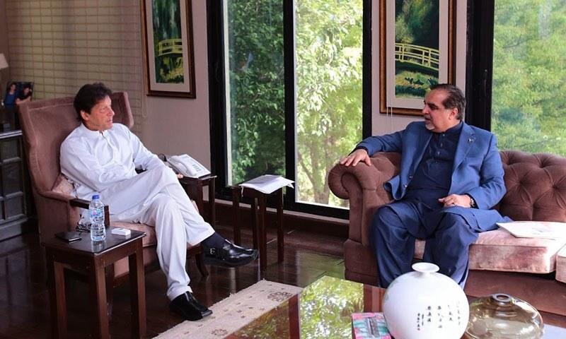 وزیر اعظم نے گورنر سندھ کی ایم کیو ایم رہنماؤں سے ملاقات کے بعد فیصلہ کیا — فائل فوٹو:ٹوئٹر