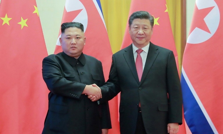 Xi will be the first Chinese president to visit Pyongyang in 14 years. — AFP/File
