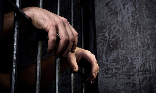 School guard Deedar Wali has been sentenced to rigorous imprisonment for two and a half years under Sections 354 and 506 of the Pakistan Penal Code. — AFP/File