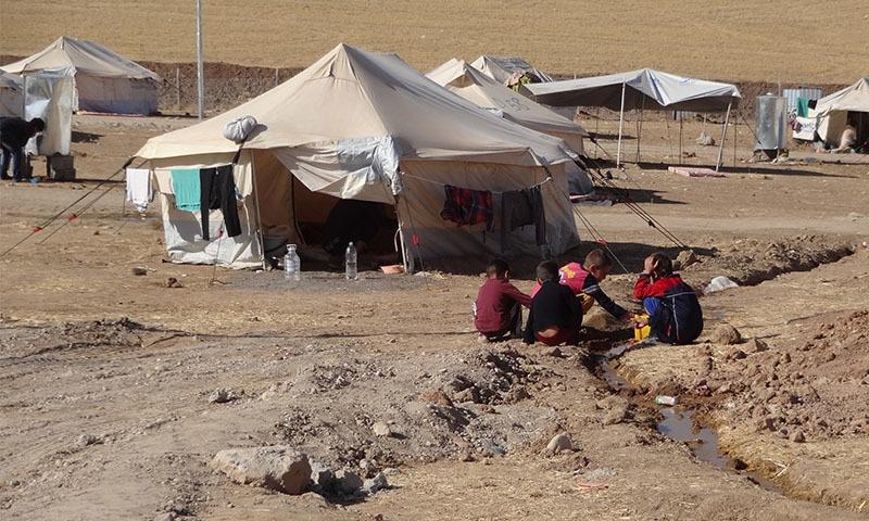 عالمی سطح پر بے گھر ہونے والوں کی تعداد تقریباً 70 سال کے عرصے کے دوران سب سے زیادہ ہے — تصویر: شٹر اسٹاک