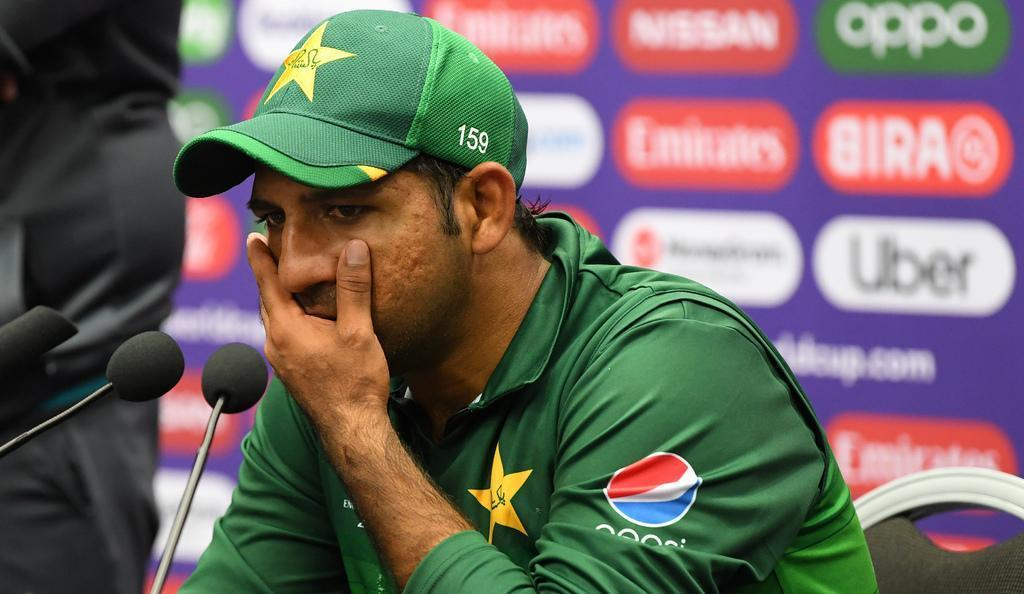 Pakistan captain is being described as 'brainless' with his team pushed to the brink of elimination from the World Cup. — PCB/File