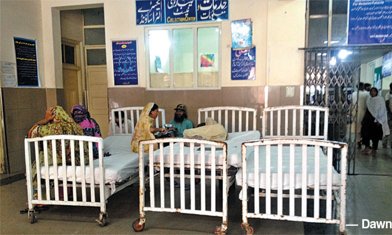Parents allege that the deaths occurred due to negligence of the staff. — Dawn/File