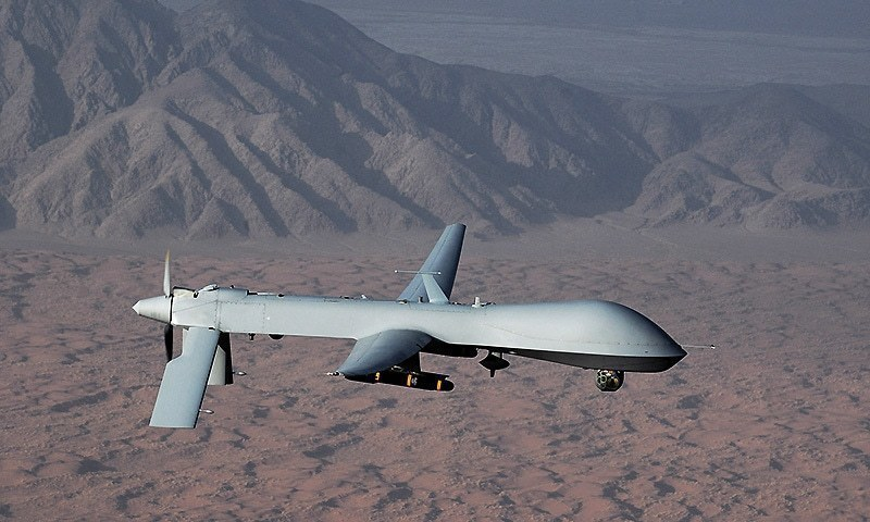 Iran's Revolutionary Guard shoots down US surveillance drone allegedly violating airspace