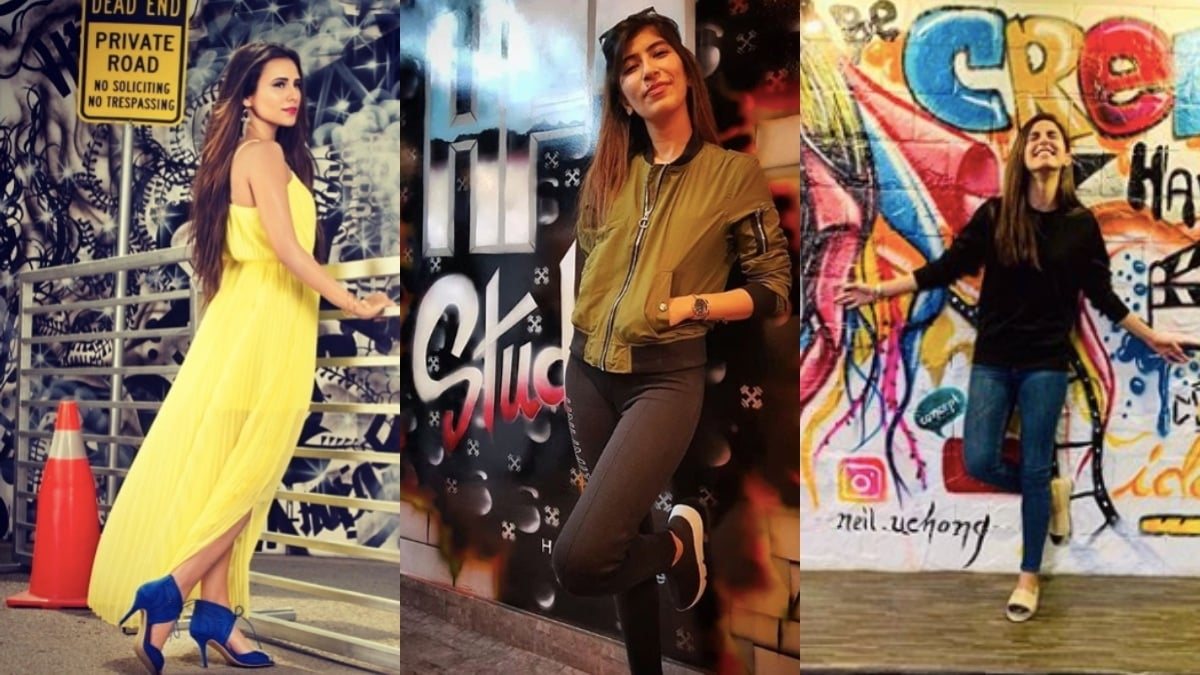 From L-R: Zoe Viccaji, Palwasha Yousuf and Maya Ali are clearly fans!