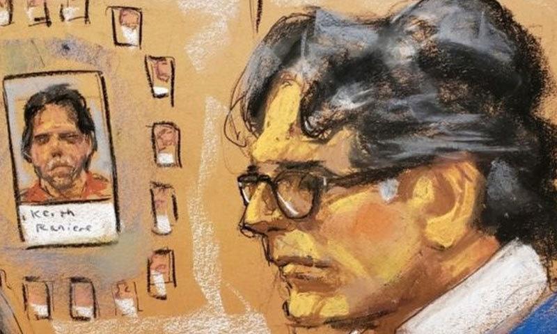 کیتھ رنائر کو 40 سال قید اور جرمانے کی سزا ہوسکتی ہے—فوٹو: رائٹرز