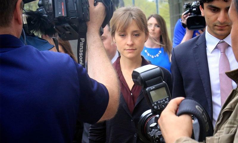 اداکارہ ایلسن میک بھی مجرم قرار دی جا چکی ہیں—فوٹو: اے پی