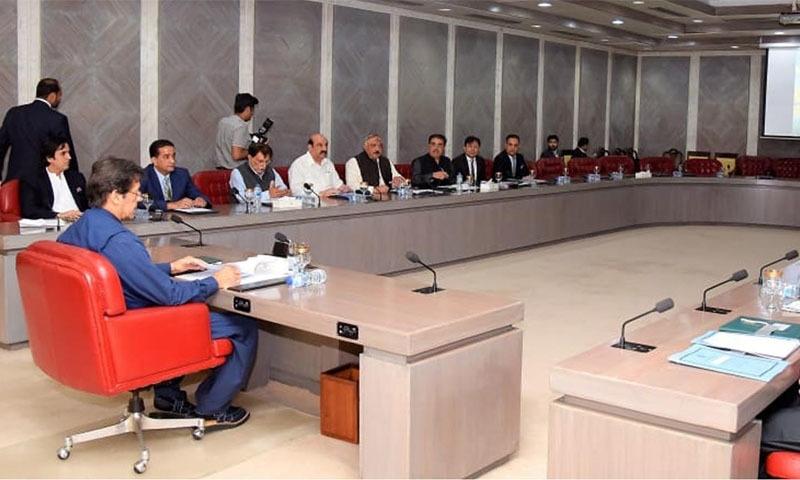 سیاحتی اور ترقیاتی منصوبوں کا جائزہ لینے کے لیے اجلاس وزیراعظم کی سربراہی میں منعقد ہوا — تصویر: حکومت پاکستان
