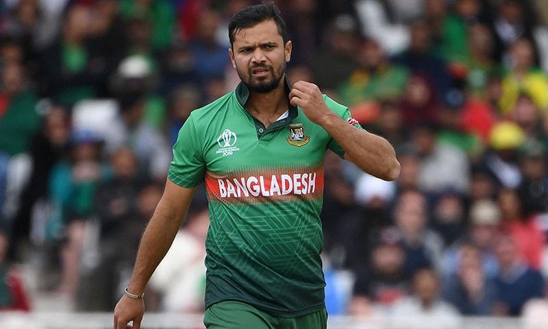 Bangladesh's Mashrafe still aiming for semi-finals despite Australia loss