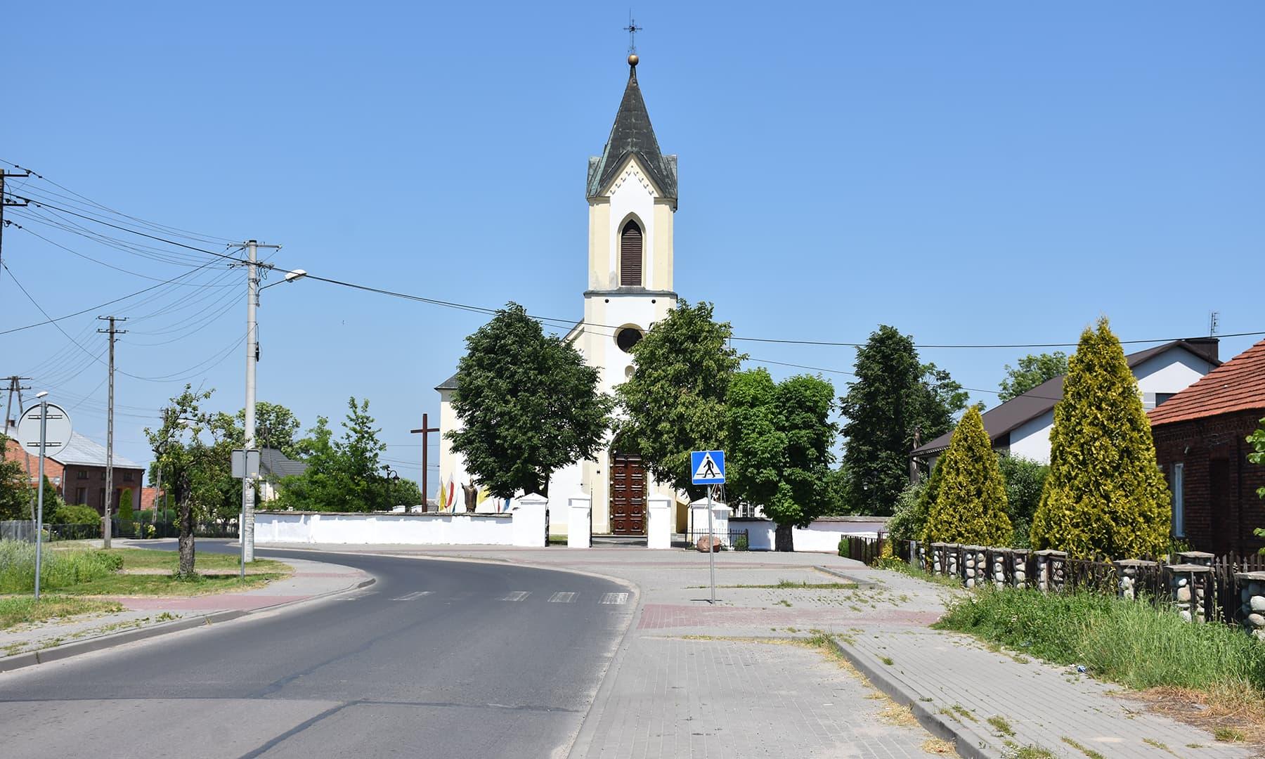 راستے میں آنے والا ایک گاؤں