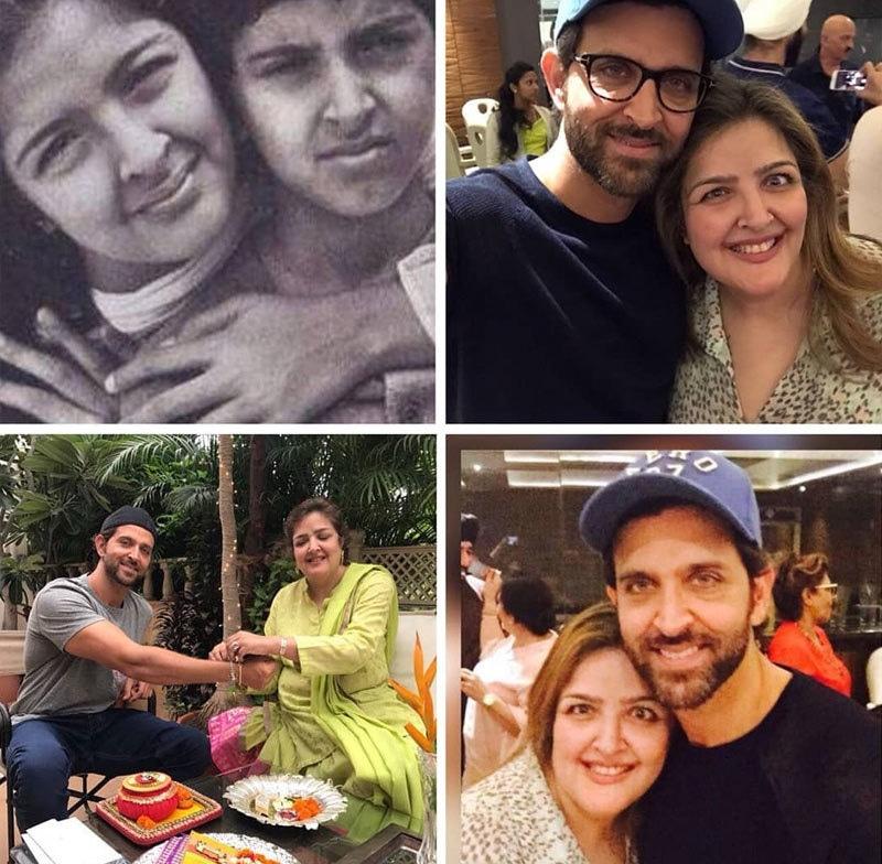 سنینا کے ریتک روشن کے ساتھ بہترین تعلقات رہے ہیں—فوٹو: انسٹاگرام