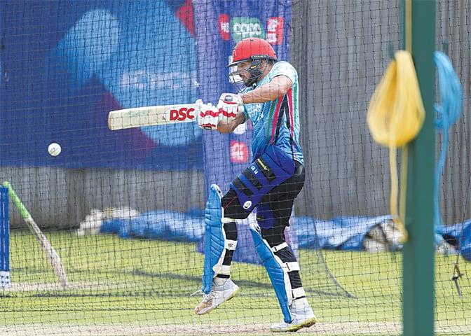 India set sights on run-fest against struggling Afghanistan