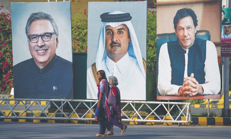 Qatari emir due in Islamabad today - Newspaper - DAWN COM