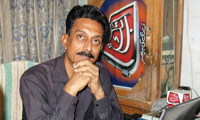 شان ڈھر کئی سال تک کراچی میں صحافت کرتے رہے—فوٹو: فیس بک