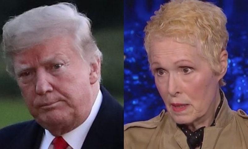 ای جین کیرول نے الزام لگایا کہ ڈونلڈ ٹرمپ نے ان سے ڈپارٹمنٹ اسٹور کے ڈریسنگ روم میں زیادتی کی تھی — فائل فوٹو/ڈان