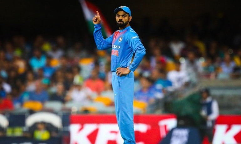 "India captain Virat Kohli has been fined 25 percent of his match fee for ""excessive appealing"" in a tense World Cup victory over Afghanistan. — AFP/File"