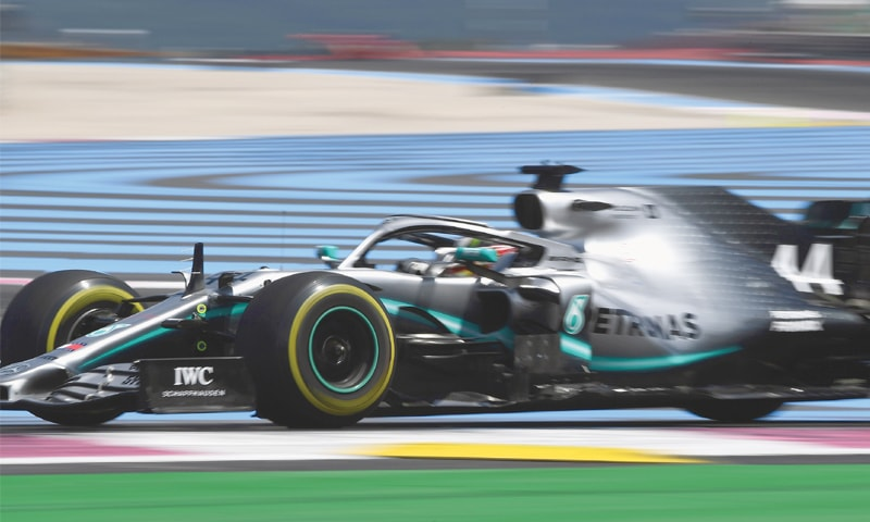 Hamilton wins French GP in Mercedes one-two