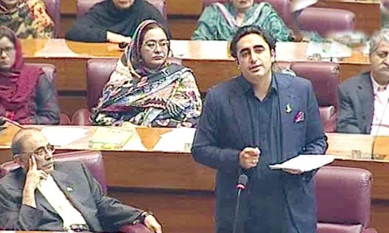 حکومت نیا پاکستان واپس لے اور قائد کا پاکستان ہمیں واپس دے، بلاول بھٹو — فوٹو: ڈان نیوز