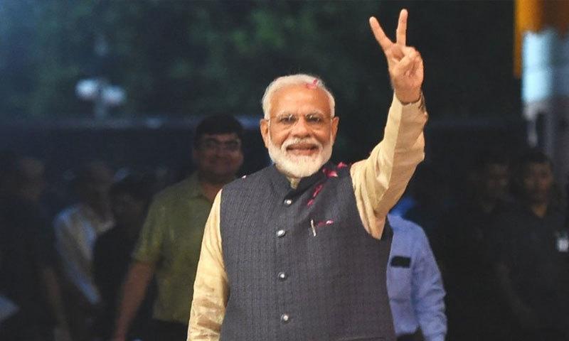 نریندر مودی اس لیے اس جنم میں عظیم رہنما بنے ہیں، کیوں کہ وہ پچھلے جنم میں بھی عظیم رہنما تھے، رپورٹ—فوٹو: اے ایف پی