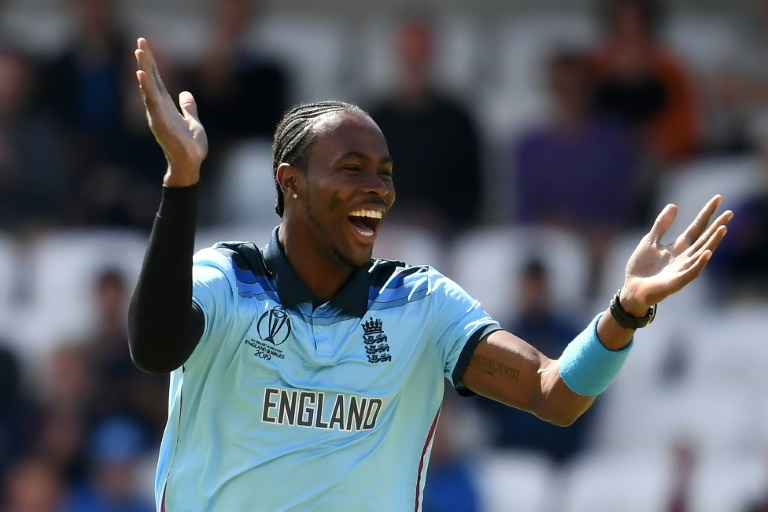 England's Jofra Archer has taken 15 wickets at the World Cup. ─ AFP