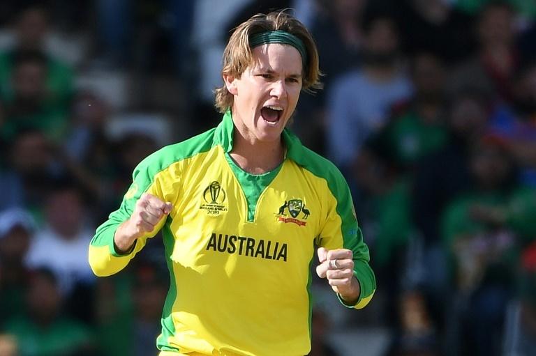 Australia's Adam Zampa has five wickets at the World Cup so far. ─ AFP