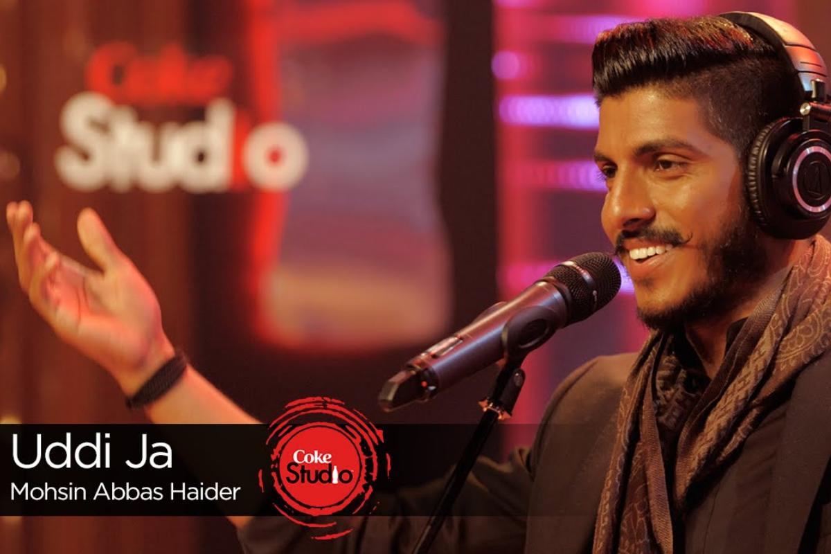 Mohsin Abbas Haider performing Uddi Ja on Coke Studio