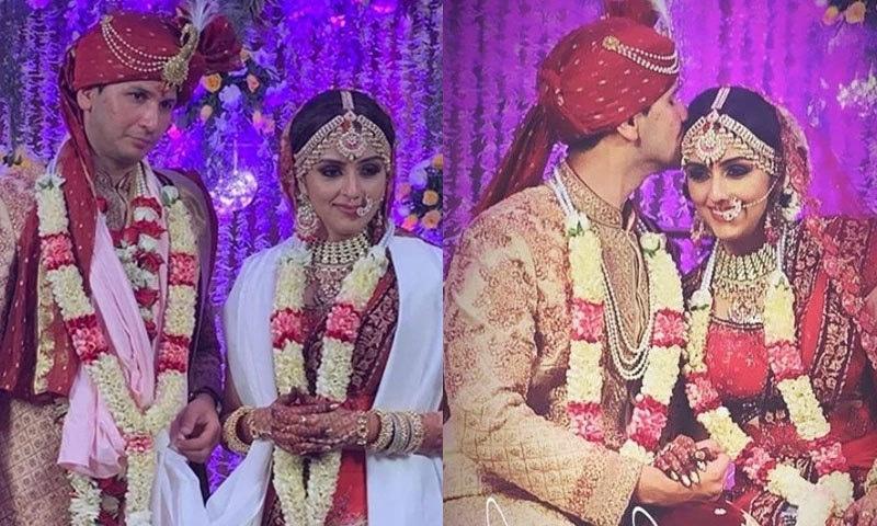 شادی کی تقریبات سادگی سے منعقد کی گئیں—فوٹو: انڈیا ٹوڈے