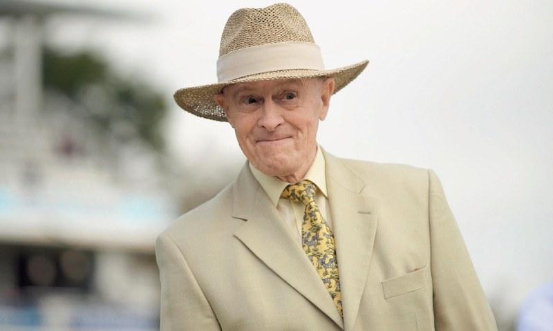Former England batsman Geoffrey Boycott. — File