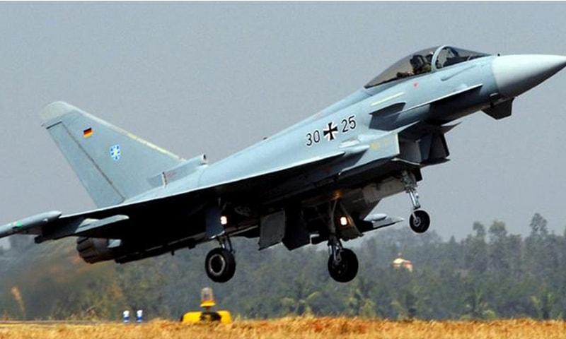 دونوں پائلٹ ٹیکٹیکل ایئر فورس ونگ 73 کا حصہ تھے  — فوٹو بشکریہ: ڈی ڈبلیو