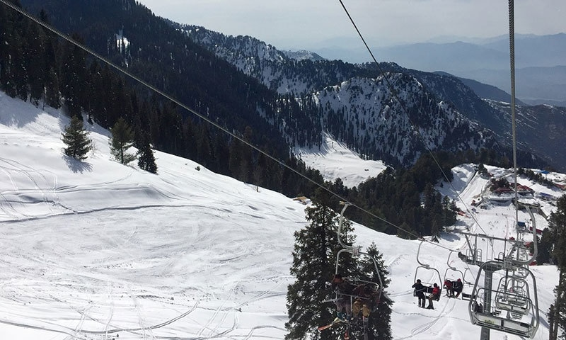 The Malam Jabba ski resort is beautiful, but will its beauty be maintained? — Photo by author