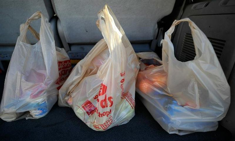 Several regions in the country are following in the footsteps of Hunza and banning the use of plastic bags. — Dawn/File