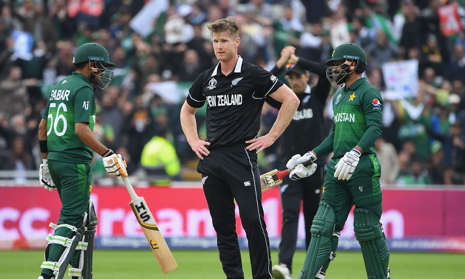 The 2015 runners-up lost by six wickets to a resurgent Pakistan on the back of a brilliant unbeaten 101 by Babar Azam. — AFP