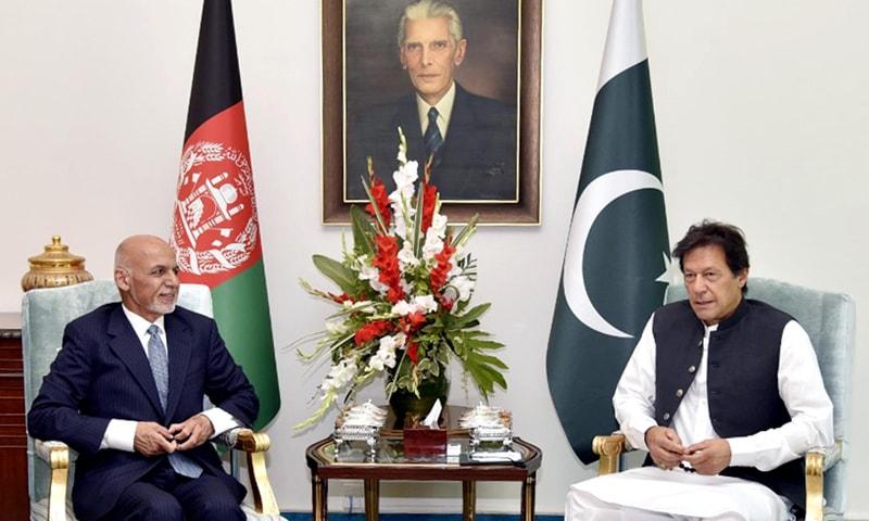 دونوں رہنماﺅں نے پاک۔افغان روابط کے پیش بین نظریے کی تشکیل کی اہمیت پر اتفاق کیا — فوٹو: پی آئی ڈی